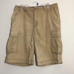 Men's Tan Arizona Jean Co. Cargo Shorts